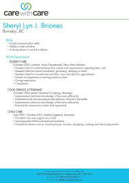 caregiving resume doc tk caregiving resume