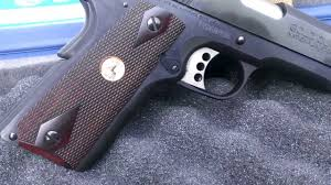Colt Gold Cup 1911 National Match (Closer Look) - YouTube