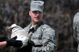 u s department of defense photo essay air force senior airman casey pritchard passes a sandbag to a north dakota national guard quick