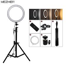 "10""26cm <b>Photography Dimmable LED Selfie</b> Ring Light Video Live ..."