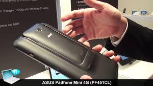 ASUS Padfone Mini 4G-LTE (PF451CL) - YouTube