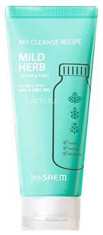 Купить <b>пенка для умывания My</b> Cleanse Recipe Mild Herb 150мл ...