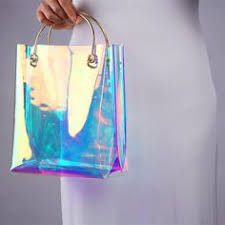 <b>Holographic</b> Heart Breaker Shoulder Bag in 2019 | Iridescent | Bags ...