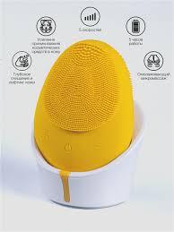 Силиконовая <b>щеточка для очищения</b> и массажа лица ...