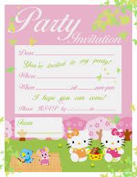printable hello kitty birthday party invitations fine hello kitty birthday banner like cheap birthday