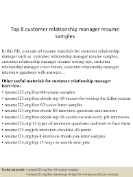 relationship manager cover letter example of comparing and conversion gate02 thumbnail 4 top 8 customer relationship manager resume samples relationship manager cover letter relationship manager cover letter