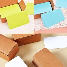 <b>100pcs</b> Simple <b>Vintage Blank Card</b> DIY Greeting <b>Cards</b> Graffiti Word ...