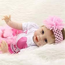<b>KEIUMI Soft</b> Silicone Reborn Baby Dolls Girls Realistic <b>22</b> Inch ...