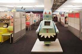 a nice office round up on flavorwire awesome office