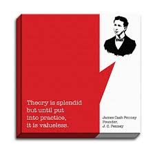 James Cash Penney - Startup Quotes - Canvas Print - The Maker's Market via Relatably.com