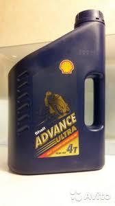 <b>Shell Advance</b> Ultra 4 SAE 10W-40 <b>масло моторное</b> мо ...