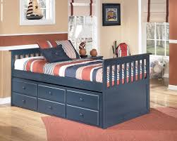 ashley leo twin trundle bed ashley leo twin bedroom set