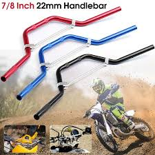 22mm 7 8motorcycle handlebar street bikes sport standard hollow handlebars for suzuki gsx r gsxr 600 750 1000