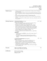 job resume personal banker resume job description personal banker gallery of personal banker resume job description