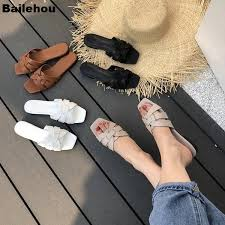 <b>Bailehou</b> 2019 New Flat Casual <b>Slippers</b> Daily <b>Summer</b> Beach <b>Flip</b> ...