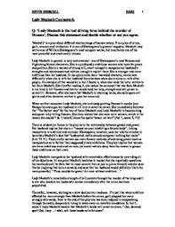macbeth essays on supernatural   term paper writing servicemacbeth essays on supernatural