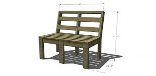 dimensions for free diy furniture plans to build customizable outdoor furniture with the kreg jig and build patio furniture