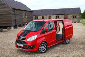 Vanlease UK Ford Transit Custom Sport