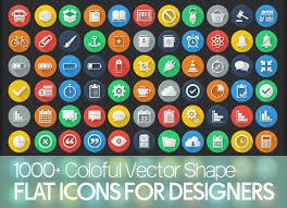 1000 flat icons colorful icons set for designers on behance basic icons flat icons 1000