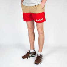 <b>Шорты TRUESPIN Swimming</b> Shorts Splash Two Beige/Red купить ...