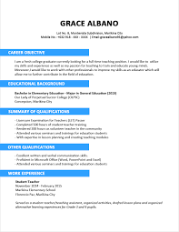 sample resume format for fresh graduates two page sample cover letter gallery of ordinary resume format