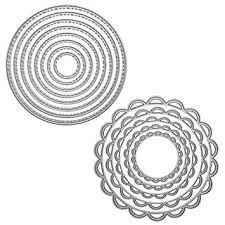 2 Packs Cutting Dies Stencil Metal Template Moulds ... - Amazon.com