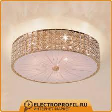 Потолочный <b>светильник Citilux Портал CL324152</b> Золото: купить ...