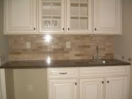 tile backsplash ideas subway kitchen beige