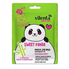 Маска для лица Animal Panda выравнивающая 28 мл <b>Vilenta</b> ...