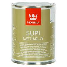 <b>Масло для пола</b> Tikkurila Supi Lattiaoljy бесцветная 0.9 л в Уфе ...