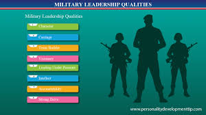 military leadership qualities personality development tips personality development tips