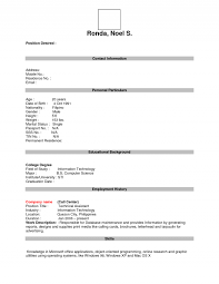 resume  filling out a resume  corezume cosmlf