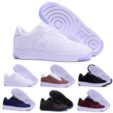 Compre Nike Air Force 1 One <b>Flyknit Zapatos De Hombre De</b> Moda ...