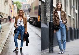 С чем носить высокие джинсы (с высокой <b>талией</b>), 32 фото