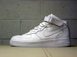 nike air force 1 mid whitewhite air force 1 mid