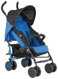 Купить <b>коляска</b>-<b>трость Chicco</b> Echo с бампером Deep Blue, цены ...