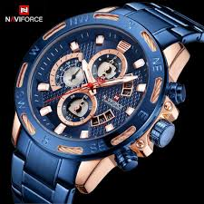 NAVIFORCE 2019 <b>Top Luxury Brand</b> Mens Watches Extreme ...