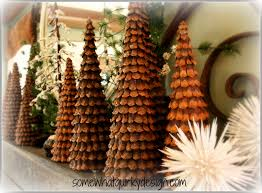 pinecone decor pine cone christmas trees for you thanksgiving and christmas