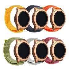 Samsung galaxy watch active Velcro <b>nylon loopback strap</b> ...
