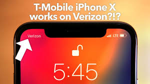 T-Mobile iPhone X Works on Verizon!?!? - YouTube