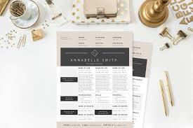 elegant resume template package  resume templates on creative marketelegant resume template package   resumes