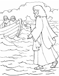 printable jesus walks on water coloring book jesus walks on water coloring page free printable coloring pages on signs please walk printable