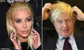 LOL! Kim Kardashian's Blonde Hair Inspired So Many Playful Memes ... via Relatably.com