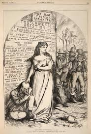 irish americans illustrating chinese exclusion the chinese question 1871