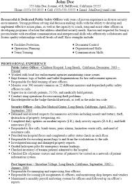 how write police resume sample resume how write for police guaranteed interviews amp professional writing police officer cover letters