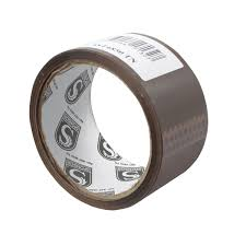 <b>Клейкая лента упаковочная</b>, <b>48</b> мм х 50 м, 40 мкм, тонированная