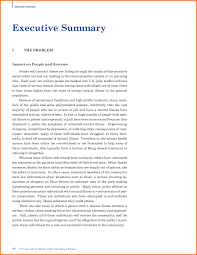 example executive summary format resume template example xianning it