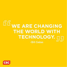 "We are changing the world with technology."" - Bill Gates #quotes ... via Relatably.com"