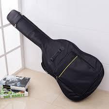 <b>41 Inch</b> Dual Adjustable Shoulder Strap Acoustic Guitar Gig Bag ...