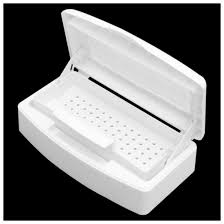 <b>New Sterilizer Tray Box</b> Sterilizing Clean Nail Art Salon Manicure ...